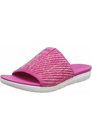 FitFlop Women's Artknit Olivia Pool Slide Open Toe Sandals