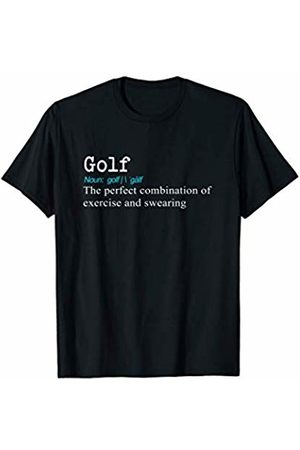 Funny Golfing Gift Birthday & Christmas Tees Funny Golf Dictionary Definition for Golfers Gift T-Shirt