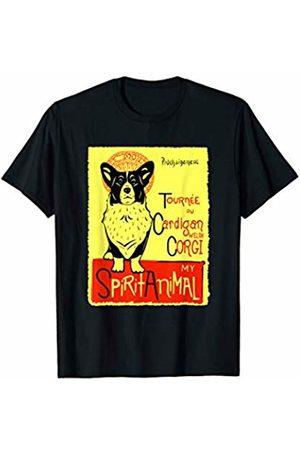 Official Get Hopped Apparel Cute Cardigan Welsh Corgi Spirit Animal Dog Graphic T-Shirt