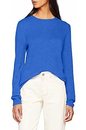 SPARKZ COPENHAGEN Women's Pure Cashmere O-Neck Pullover Jumper, ( Sky 727)