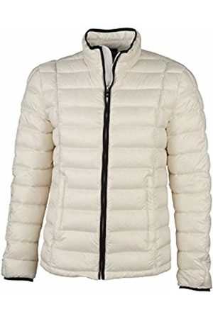 James & Nicholson Men's Down Jacket Quilted - - Large