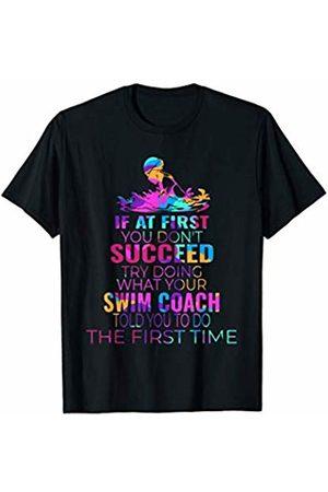 Merch Whiz Swim Proud Funny Women Kids Gift Swimmer Shirt Funny Swim Lover Sports Swimming Love Shirt T-Shirt