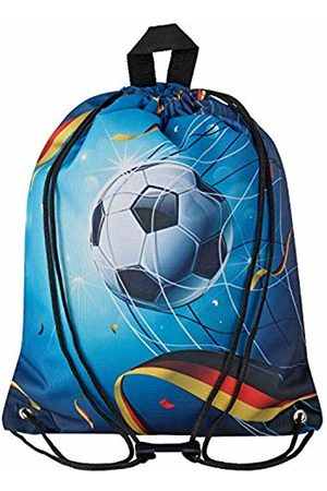 Aminata Kids Children's Gym Bag for Girls and Boys with for Real Sports Fan Item Corner Design Reinforced World Cup Football Sports Bag Gym Bag Sports Bag