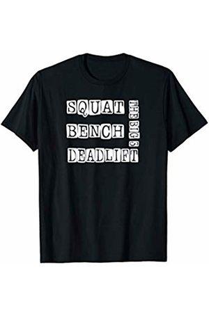 GYM4LIFE Squat Bench Deadlift Powerlifting Workout Gift T-shirt