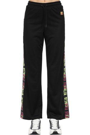 Fila Women Wide Leg Trousers - Adora Wide Leg Techno Mesh Pants
