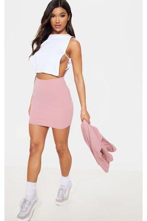 PrettyLittleThing Mini Suit Skirt