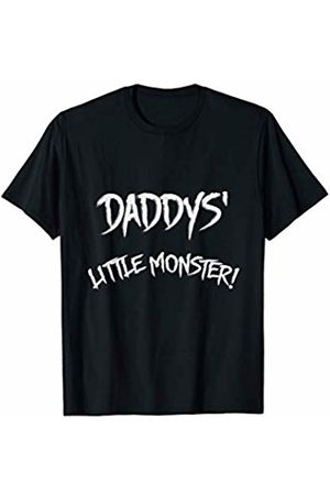 SDS Media Daddys little monster - daddy and baby matching Shirts