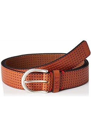 HKT by Hackett London Men Belts - Men's Hkt Punched Belt (Dk Tan 8hr)