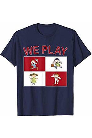Dee Dub Design Great ESL Teacher Shirt We Play