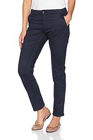 Tommy Hilfiger Women's Basic Mid Rise Chino Straight Trouser