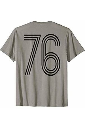 Fun numbers for competitions sports Retro Number Seventy Six on back Baseball Sport T-shirt T-Shirt