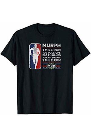 Wod Recovery Rx Memorial Day Murph Warrior Gym Cross Fitness Wod T-Shirt