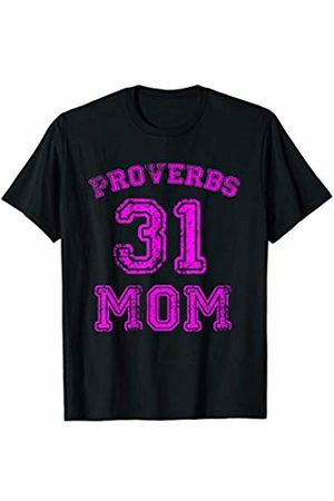 Avinu Apparel Proverbs 31 Mom - Christian Mother Wife Bible Verse Quote T-Shirt