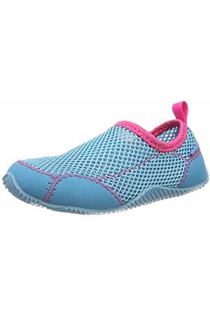 LICO Girls' Sea Water Shoes, Turquoise Türkis/