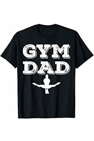 Gymnastic Dad T-Shirt Gift Mens Gymnastic Dad Gym Father Father's Day Gift T-Shirt