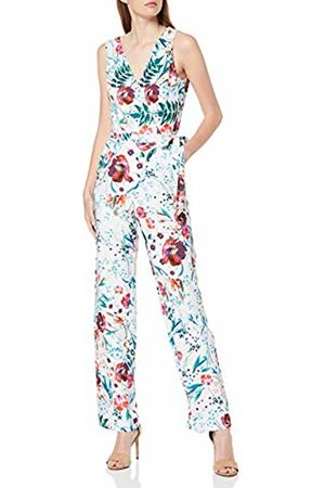 Little Mistress Women's Ria Floral-Print Jumpsuit (Multi 001)