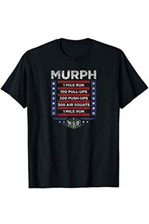Wod Recovery Rx Memorial Day Murph Hero Gym Cross Fitness Wod T-Shirt