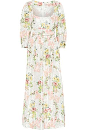 BROCK COLLECTION Exclusive to Mytheresa – Ondina floral taffeta midi dress