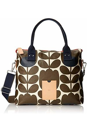 ETC by Orla Kiely Women's Tulip Stem Print Zip Messenger