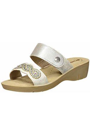 Inblu Women's Naif Flip Flops, (Bianco 001)