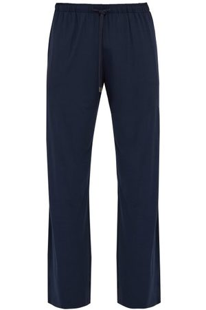 DEREK ROSE Stretch-jersey Lounge Trousers - Mens - Navy