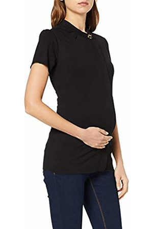 Noppies Women's 80513 Button Front Short Sleeve Maternity Vest Top - - UK 8