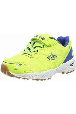 LICO Unisex Kids' Flori VS Multisport Indoor Shoes, Gelb Lemon/Blau