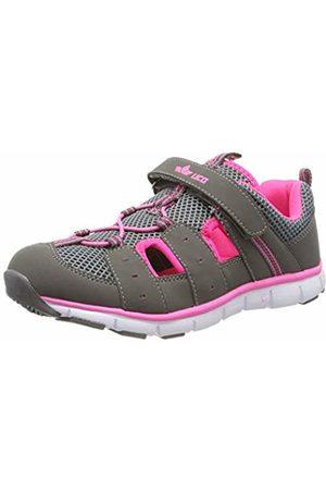 LICO Women's Matti Vs Closed Toe Sandals, Grau/