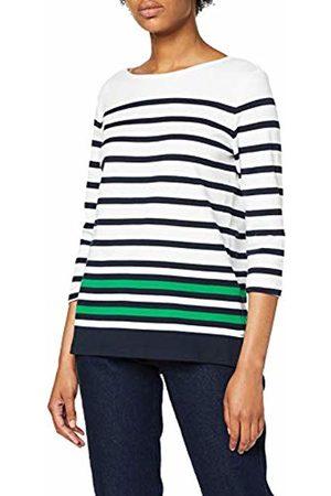 Tom Tailor Women's Basic Langarmshirt Gestreift T-Shirt Not Applicable