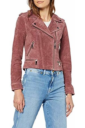 Vero Moda NOS Women's Vmroyce Short Suede Jacket Noos Old Rose