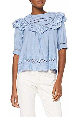 Noa Noa Women's Broderie Anglaise Cotton Blouse