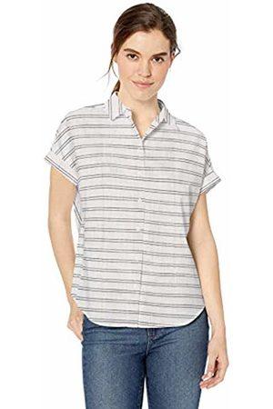 Daily Ritual Broken-in Cotton Relaxed Short-Sleeve Shirt Button