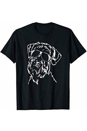 Schnauzer Fan Funny Proud Schnauzer sunglasses cool dog gift T-Shirt