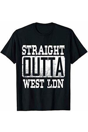 Urban British Culture London Pride Co. West London T-Shirt Gift For Boyfriend-Hip Hop Tshirt Drill
