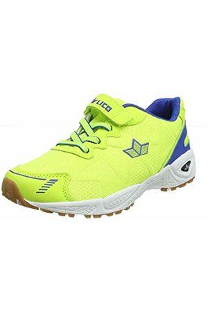 LICO Unisex Adults' Flori VS Multisport Indoor Shoes, Gelb Lemon/Blau