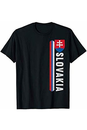 Slovak National Crest Designs Slovakia Sports-style Flag and Emblem Design T-Shirt