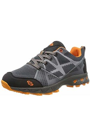 Bruetting Unisex Adults' Canton Low Rise Hiking Shoes, Anthrazit/Schwarz/