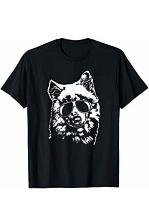 Samoyed Fan Funny Proud Samoyed sunglasses cool dog gift T-Shirt