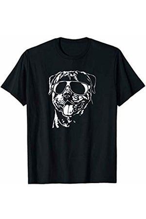 Rottweiler Fan Funny Proud Rottweiler sunglasses cool dog gift T-Shirt