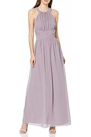 Little Mistress Women's Paige Lavender Lace Back Maxi Dress Party, Frost 001