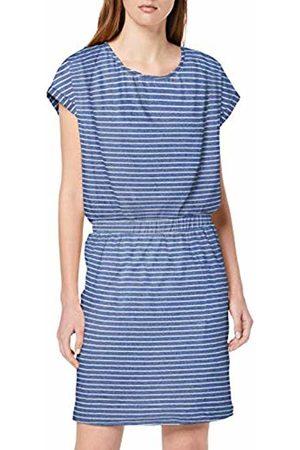 Ichi Women's Ihmoto Ss Dr2 Dress, (Small Stripe Mazarine 14027)