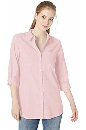 Daily Ritual Broken-in Cotton Relaxed Boyfriend Shirt Button
