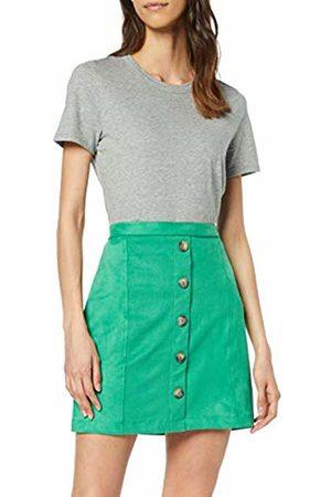 Esprit Women's 039ee1d001 Skirt, (Dark 300)