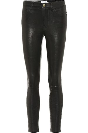 Frame Le Skinny de Jeanne leather pants