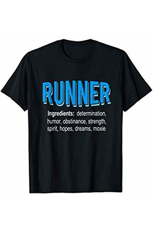 JuneThirtyCo. Running Apparel Runner Ingredients - Funny Running Gift Shirt T-Shirt