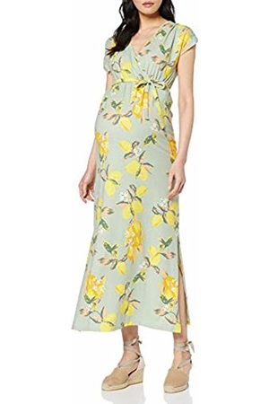 Mama Licious Women's Mllemon S/s Jersey Maxi Dress A. V