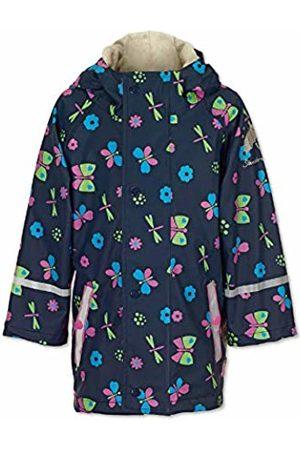 Sterntaler Girl's Veste De Pour Filles, Taille: 4-5 Ans, Bleu Raincoat