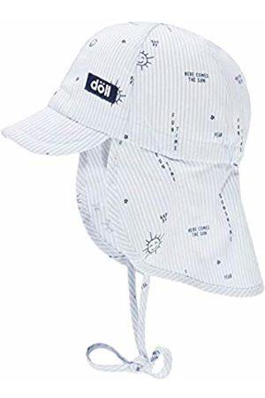 Döll Baby Hats - Baby Girls' Bindemütze Mit Schirm Und Nackenschutz Sun Hat, (Heather|