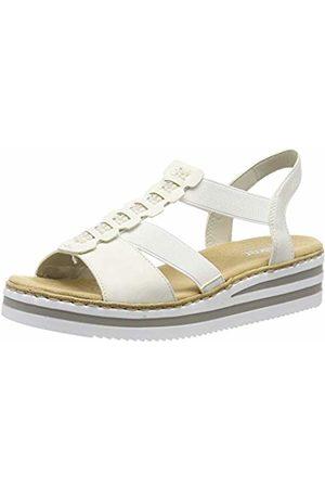 Rieker Women's V02c2-80 Platform Sandals 5 UK