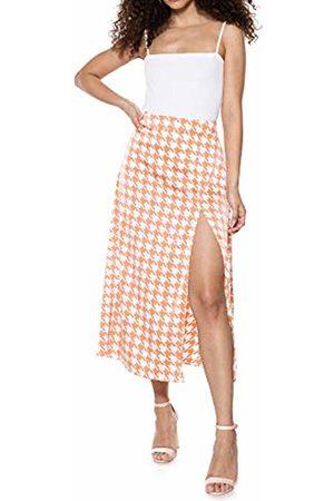 Ivyrevel Women's Split Skirt ( Pepita Print 341)